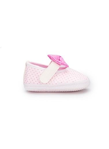 Pink Step Ev Terlik Beyaz